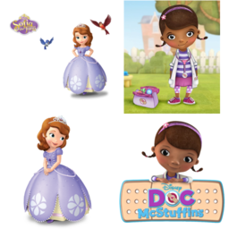 Sofia the first or Doc mcstuffins